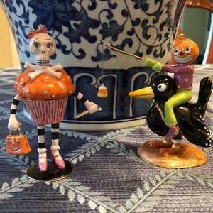 🎃Department 56 Jeweled Halloween Figure Boxes 🎃